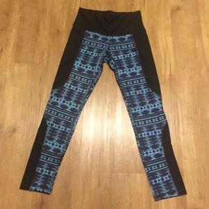 RBX blue and black leggings